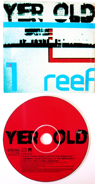 Reef ‎- Yer Old (CD Single Pt 1) (G+/VG)